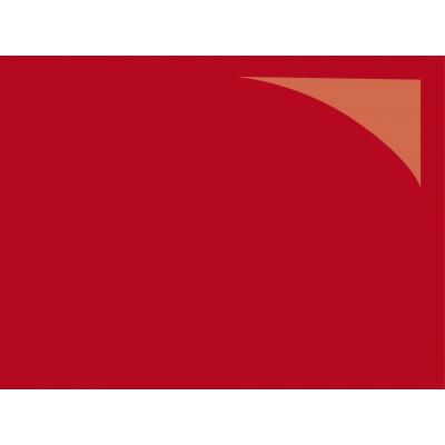 Revêtement de sol PVC brillant rouge