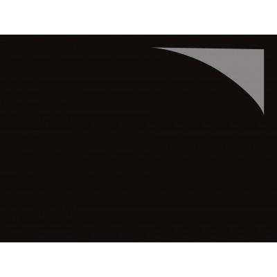 Revêtement de sol PVC brillant noir